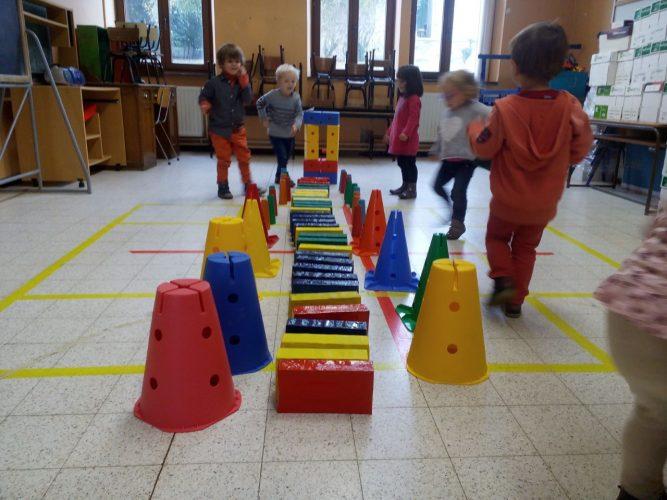 Activités à l'école maternelle